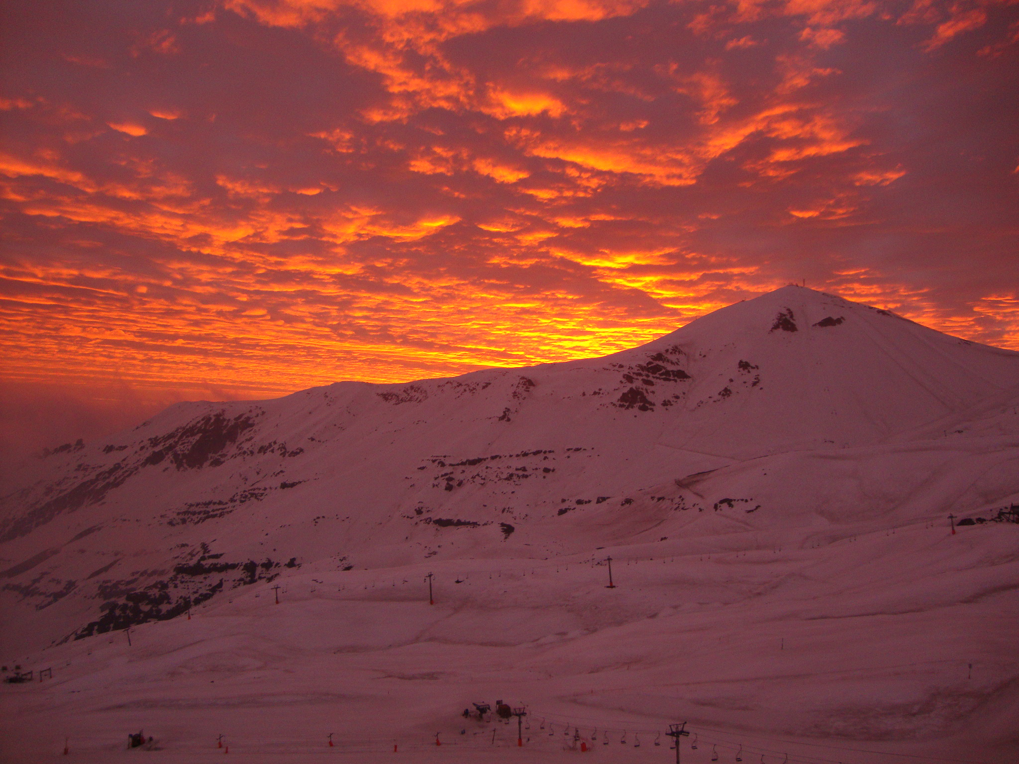 Perfect Sunset, Valle Nevado