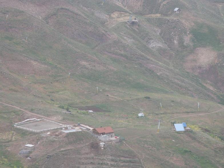 شمشک- دید از سرکچال, Shemshak