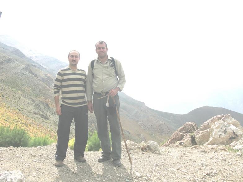 مجید وامیر در سرکچال, Shemshak