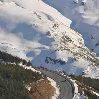 camino a la sierra, Sierra Nevada