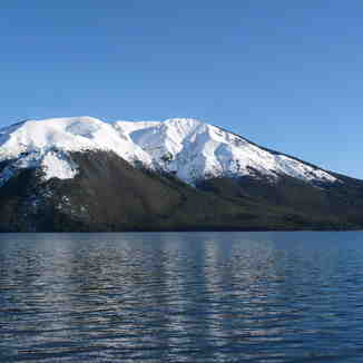 Lake Rotoiti and Mount Robert, Rainbow