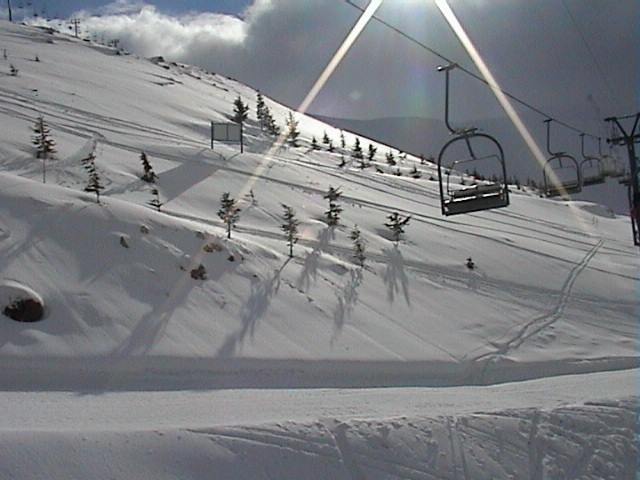light play at Jonction Faraya., Mzaar Ski Resort