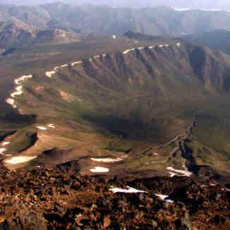 Damavnd-Yale Dagh, Mount Damavand