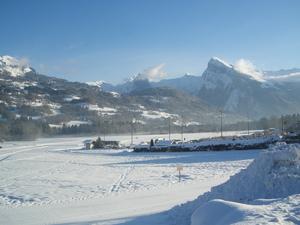 cross country skiing, Morillon photo