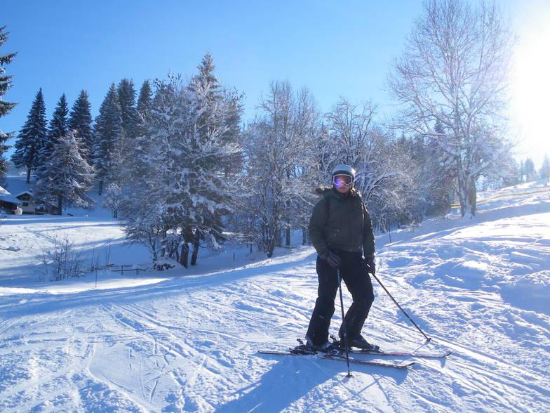 Laberieu ski run, Morillon