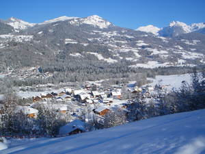 Morillon village photo