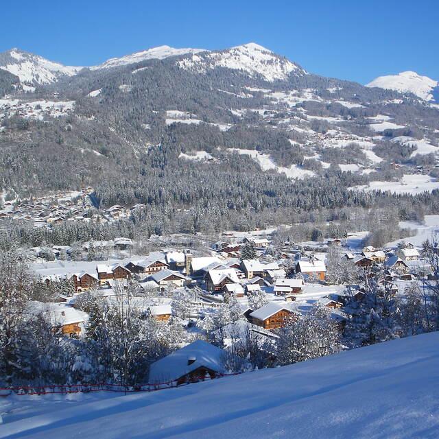 Morillon village