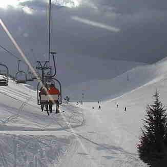 On the way to the Top, Mzaar Ski Resort