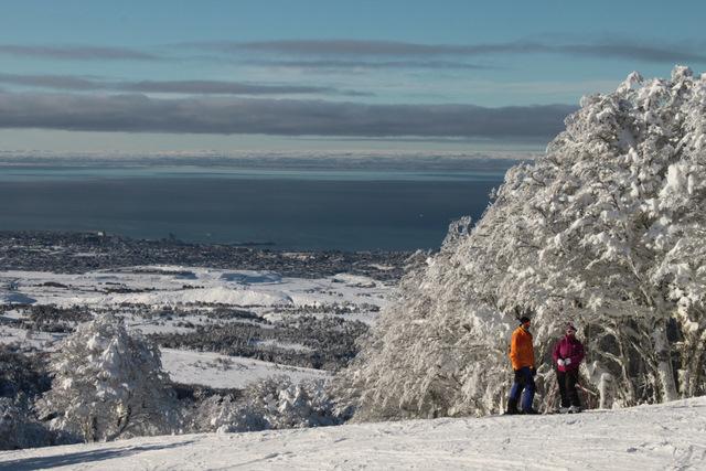 Cerro Mirador snow