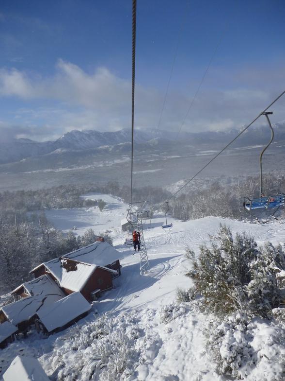 Perito Moreno snow