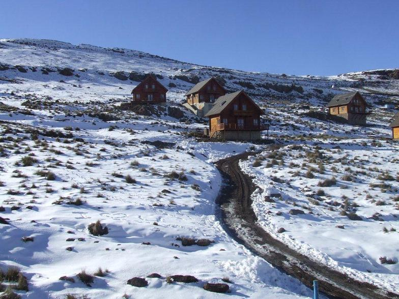Pic from Aspen 1 to the chalets, Afriski Mountain Resort