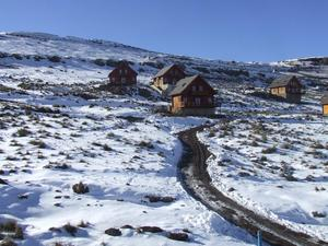 Pic from Aspen 1 to the chalets, Afriski Mountain Resort photo