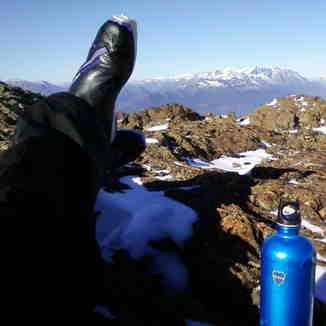 Perito Moreno descanso en el plateau