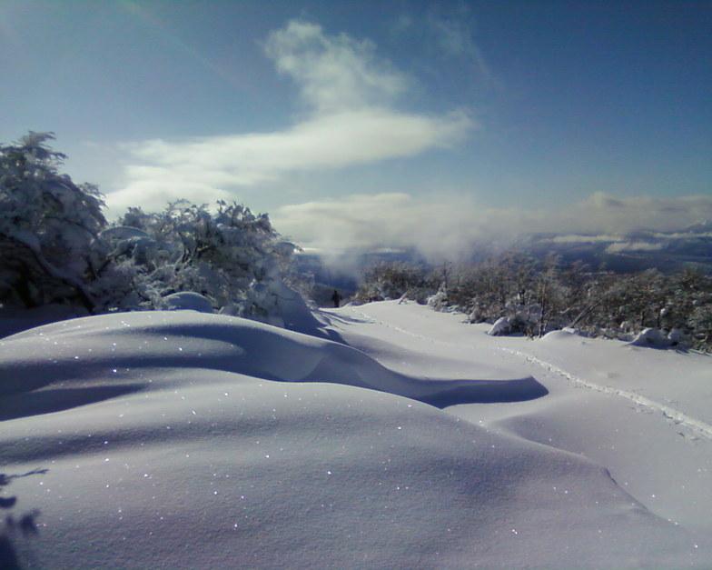 subiendo al plateau, Perito Moreno