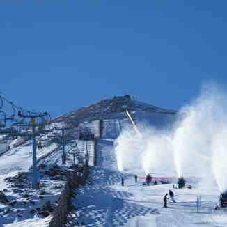 Snow making, El Colorado