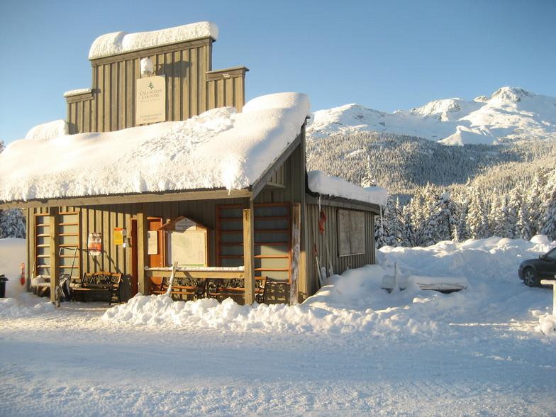 Ski Callaghan snow