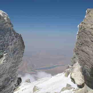 Top of damavand, Mount Damavand