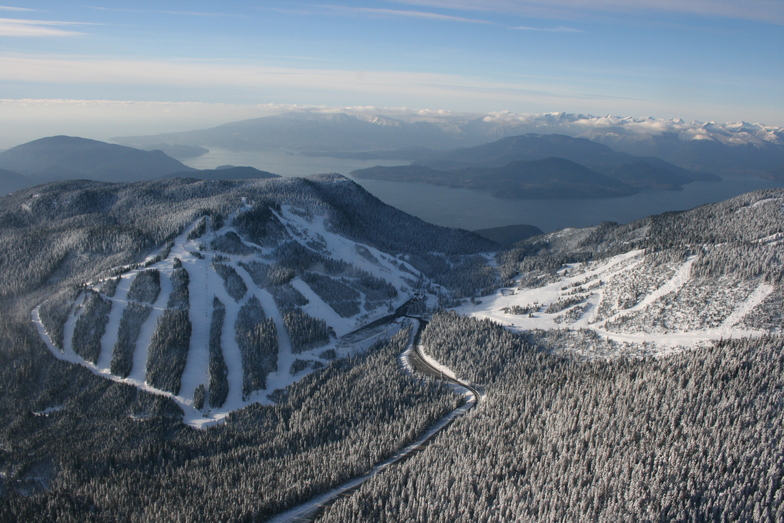Cypress Mountain snow