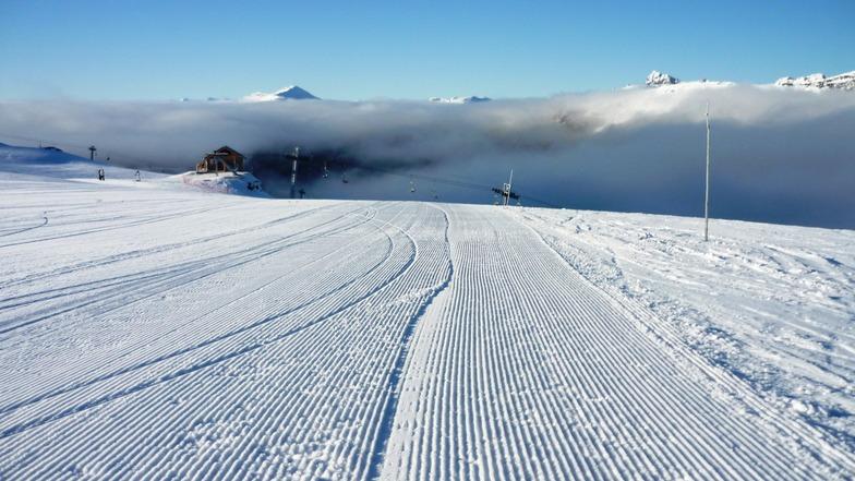 Cerro Castor snow