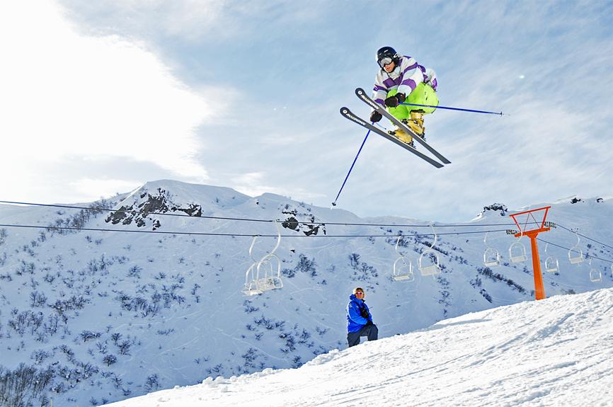 Jumpíng, Nevados de Chillan