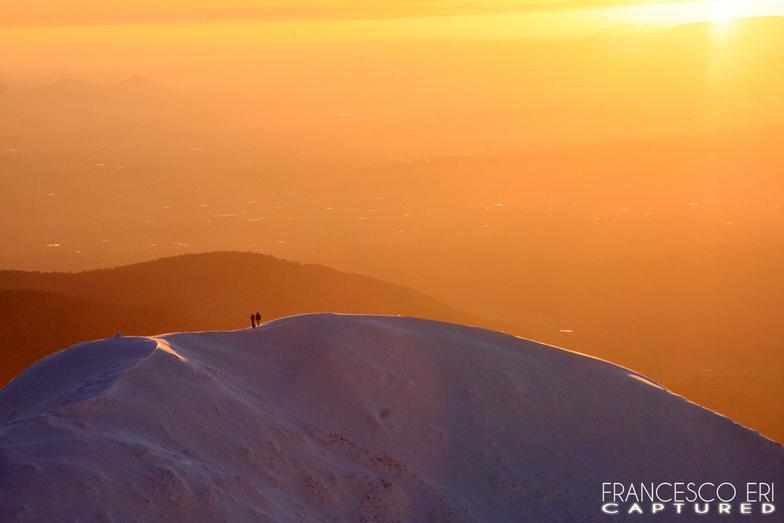 "sunset in Buller - "" dolomiti.com.au "", Mount Buller"