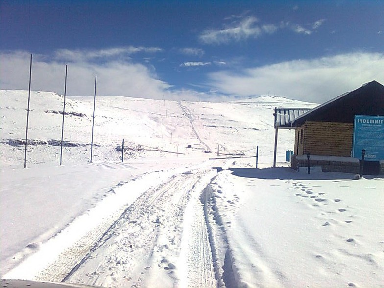 Afriski Mountain Resort snow