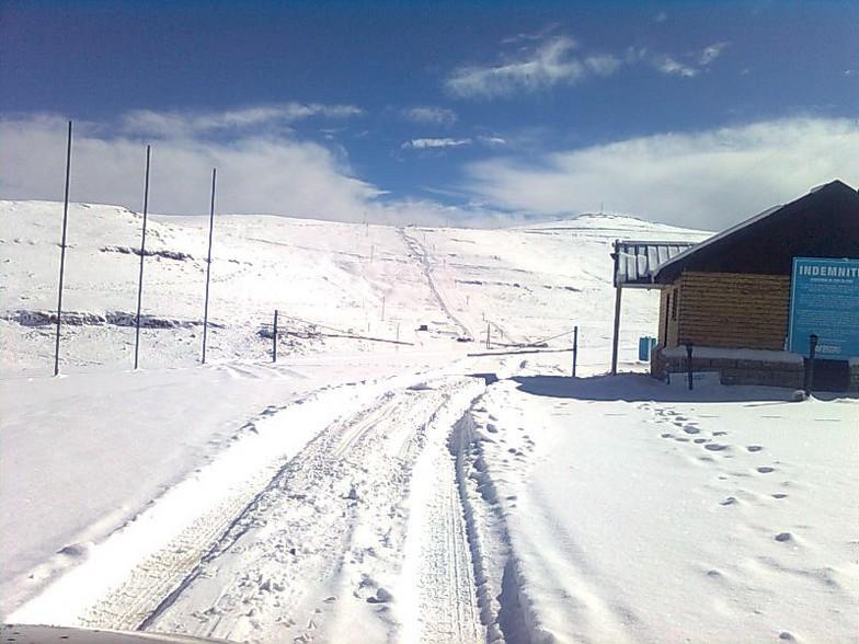 Afriski Mountain Resort snow