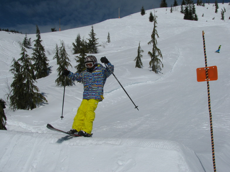 Little Man's Jump, Sasquatch Mountain Resort