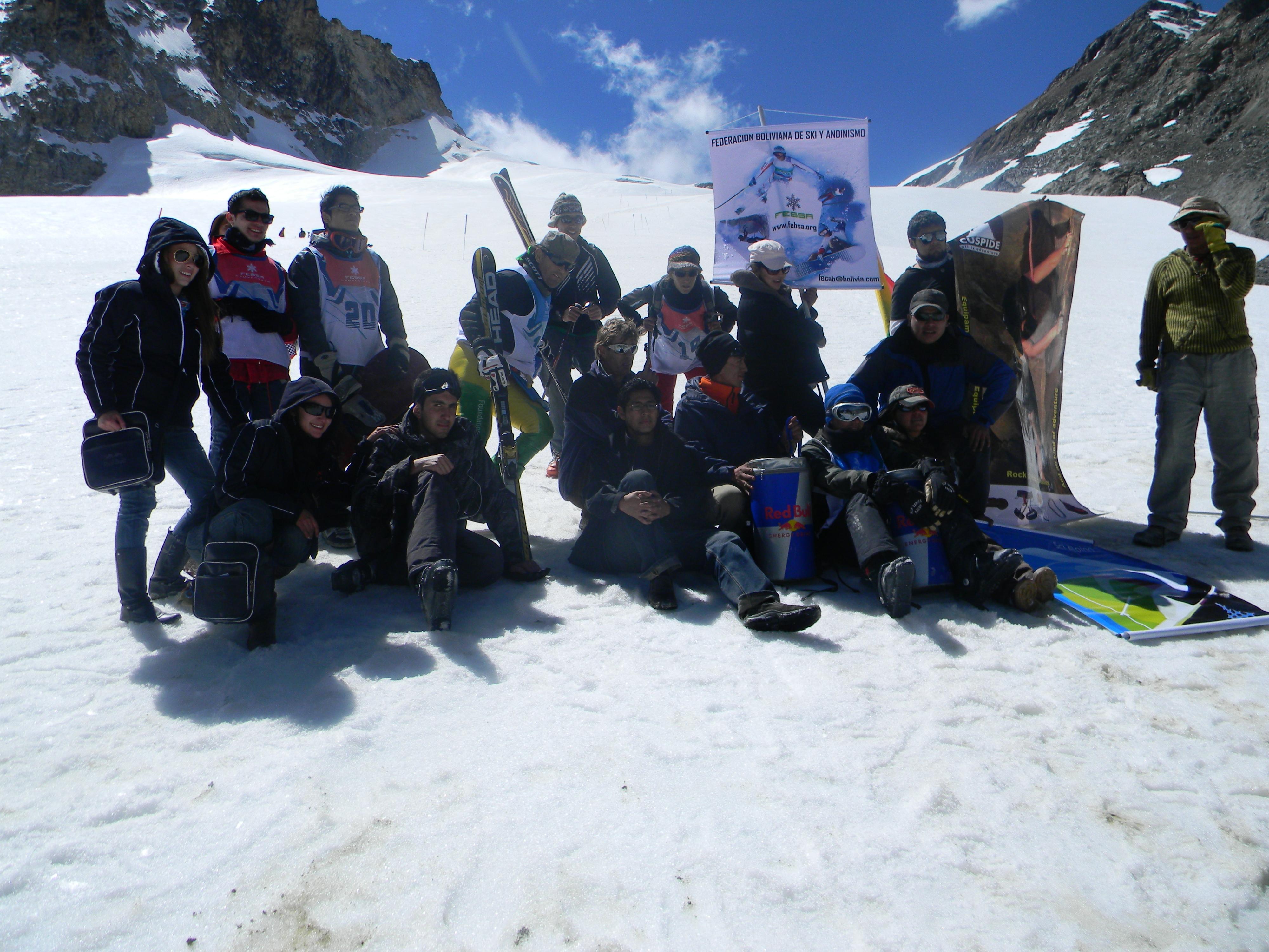 charkini campeonato de ski 2011, Chacaltaya