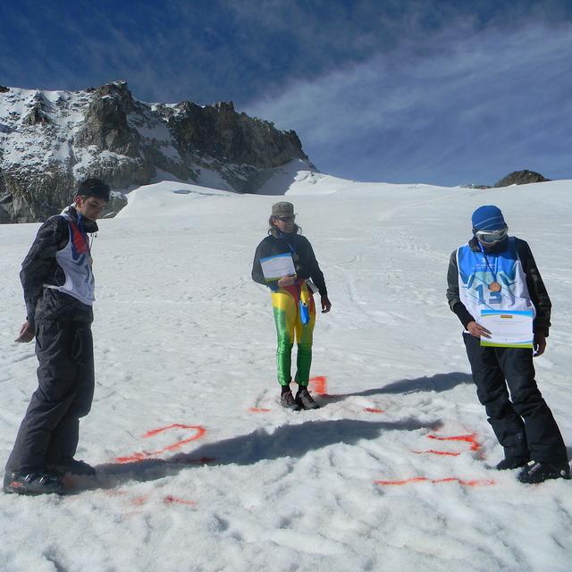 campeonato de ski 2011, Chacaltaya
