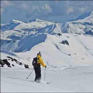 nevados backcountry, Nevados de Chillan