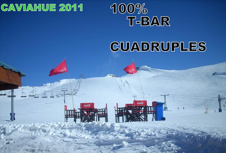 T-BAR {{CUADRUPLES, Caviahue