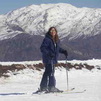 Ready for go skiing, Valle Nevado