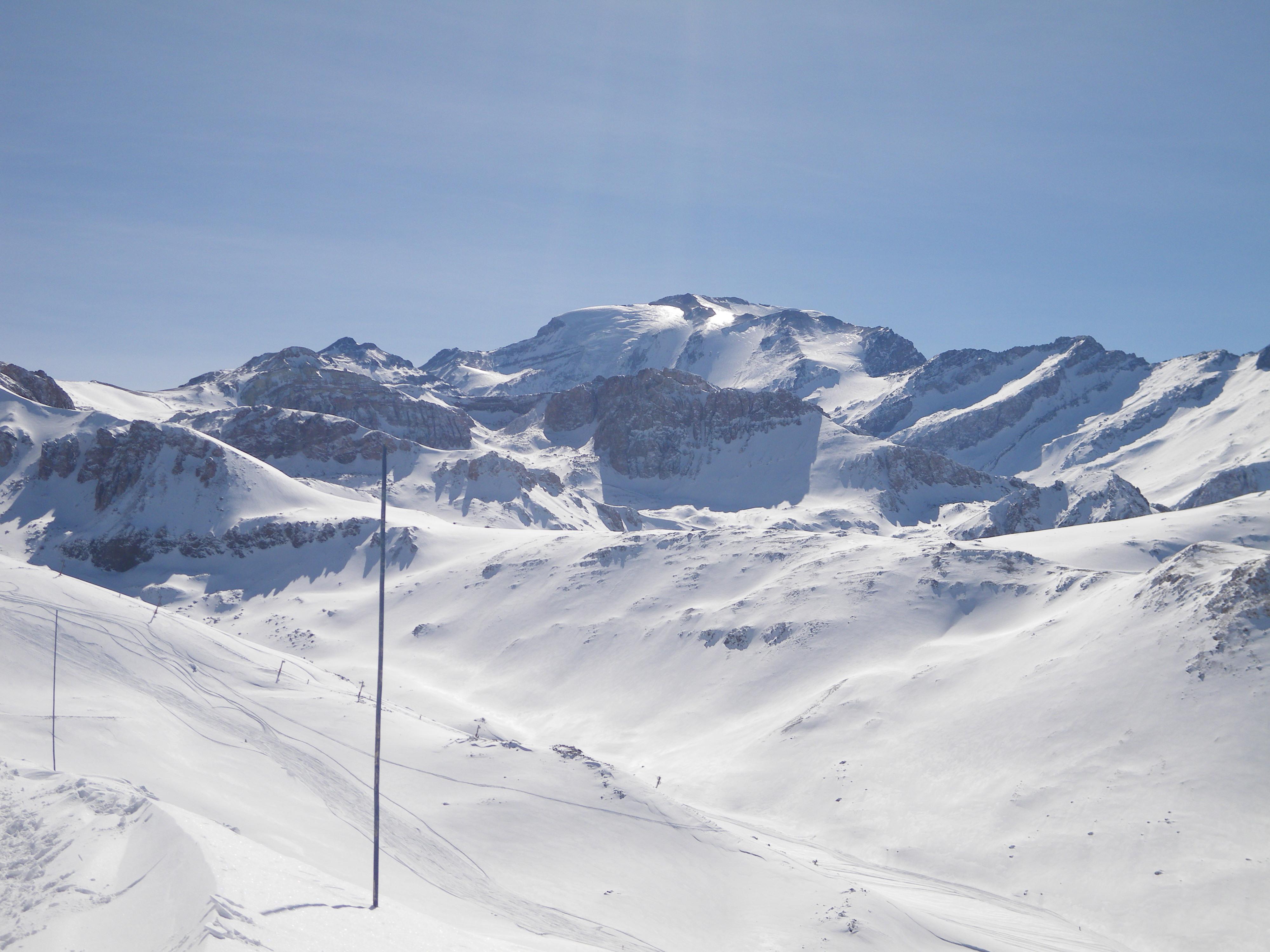 Valle Nevado - Tres puntos and Plomo