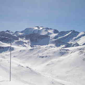 Valle Nevado - Tres puntos and Plomo