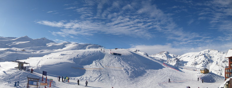 Valle Nevado panorama