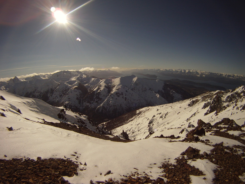 View from Nubes Chairlift, Cerro Catedral