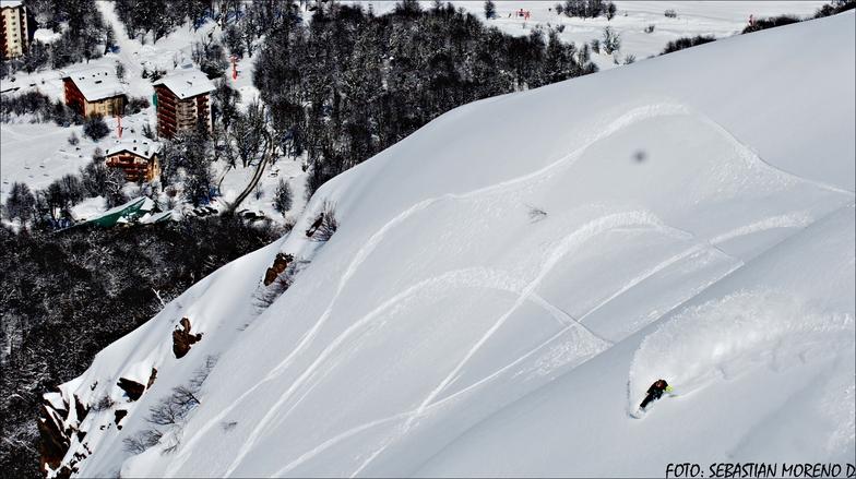 hacia hotel nevados, Nevados de Chillan