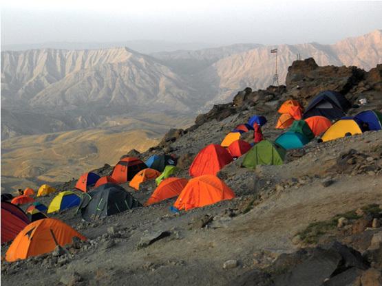 Ali Saeidi نقاب کوهستان, Mount Damavand