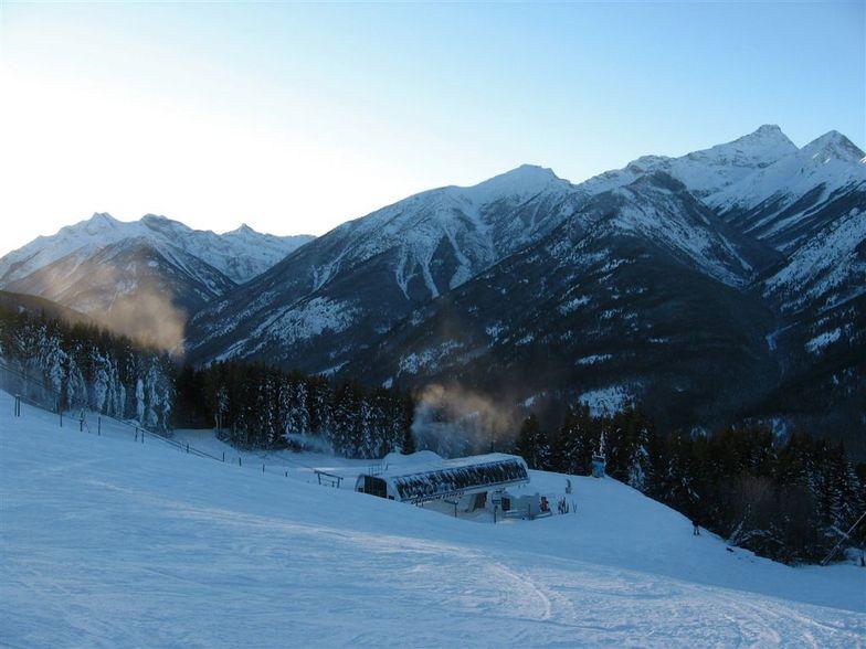 Purcell Sunset, Panorama Mountain Resort