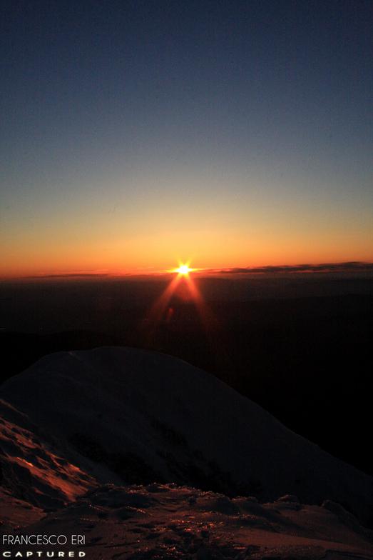 Sunset on Summit, Mount Buller