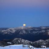full moon rising, Australia - Victoria