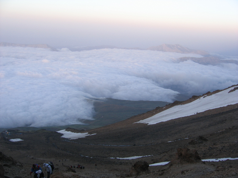 mehdi azizi, Mount Damavand