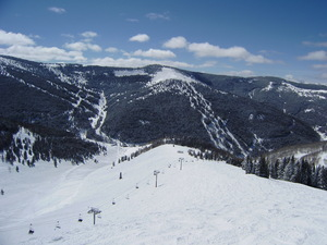 sky blue basin, Vail photo