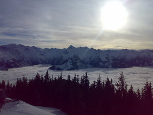 over clouds, Kaprun photo