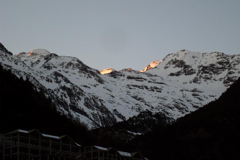 Arinsal night, Vallnord-Arinsal