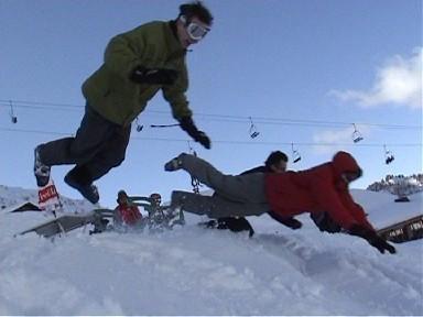 Jump, Morzine