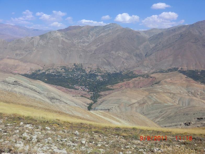 قله ورجین, Mount Damavand