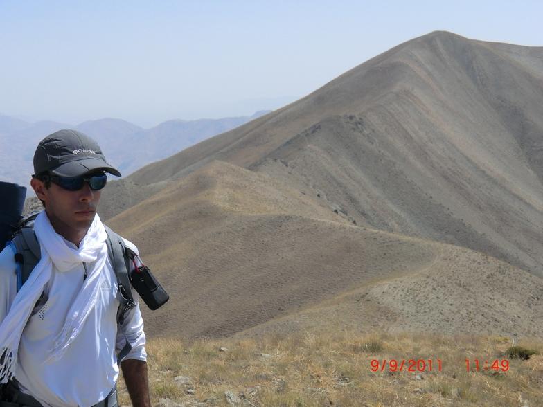 ali zakaee, Mount Damavand