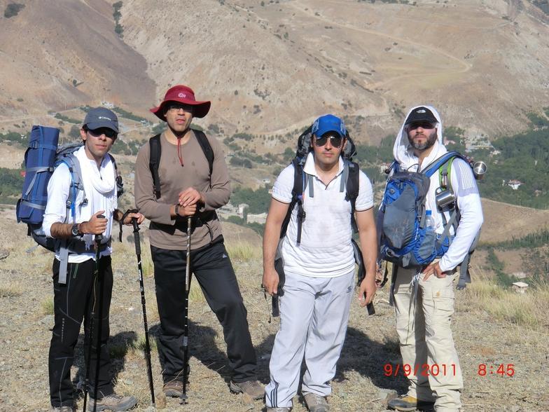 ali asgari, Mount Damavand